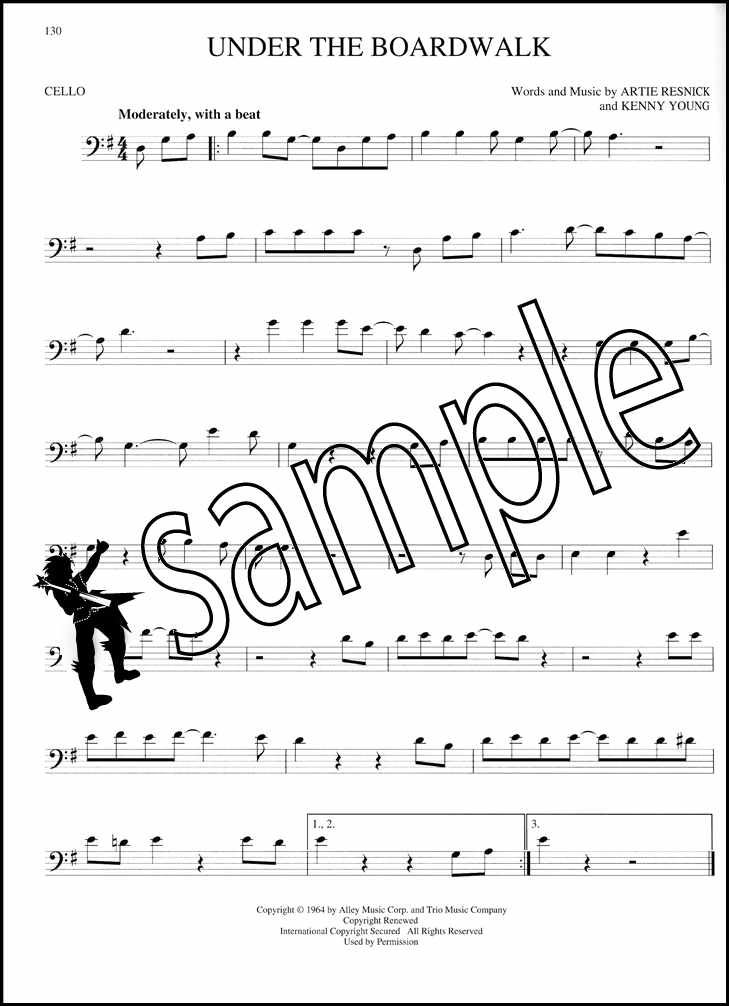 The Big Book Of Cello Songs Sheet Music Book 130 Songs Elvis Coldplay E T Voice