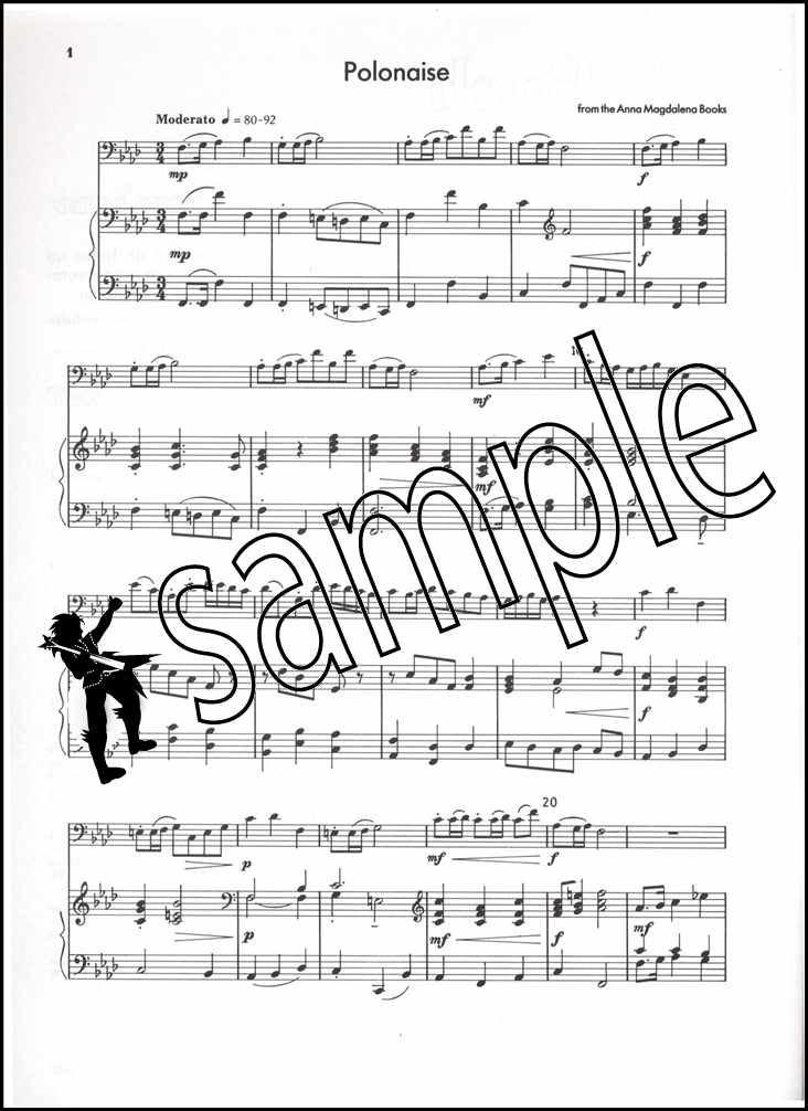 bach for trombone treble clef sheet music book 9790570270880 ebay. Black Bedroom Furniture Sets. Home Design Ideas