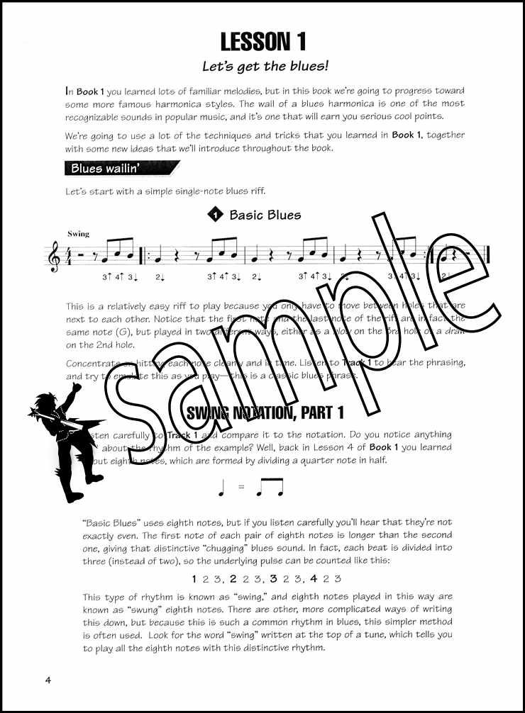 Details about Fast Track Harmonica 2 Sheet Music Book & Audio C Diatonic  Learn to Play Method