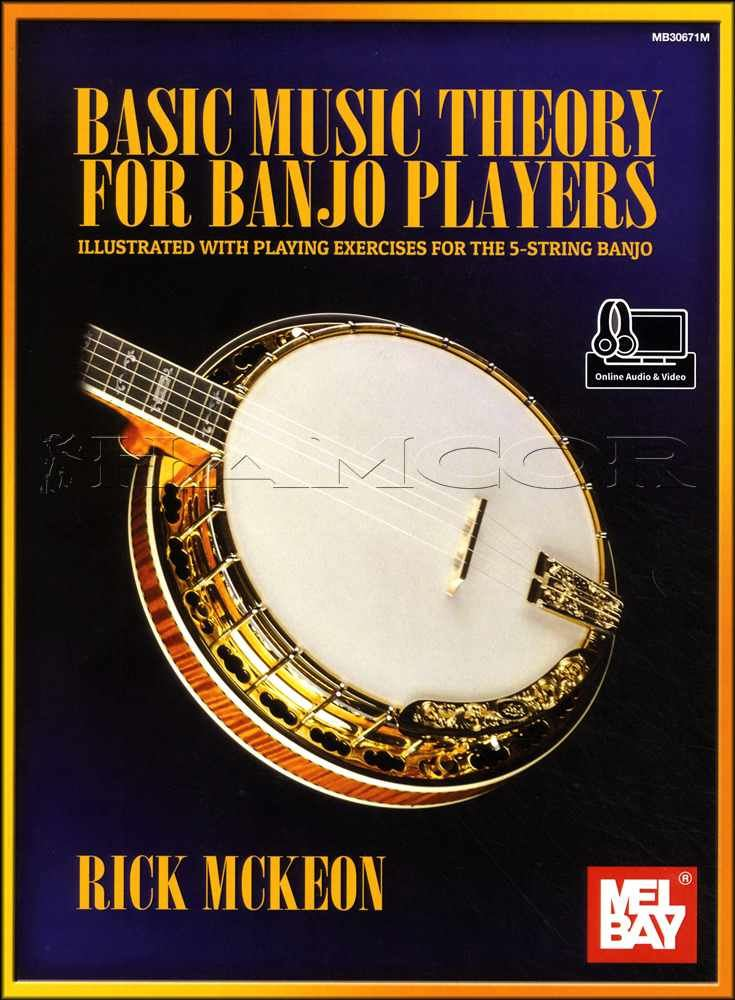 Details about Basic Music Theory for Banjo Players Book/Audio/Video  5-String Playing Exercises