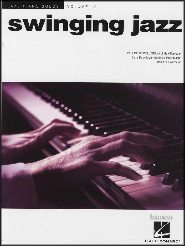 Details about Swinging Jazz Piano Solos Volume 12 Sheet Music Book Dean  Martin Frank Sinatra