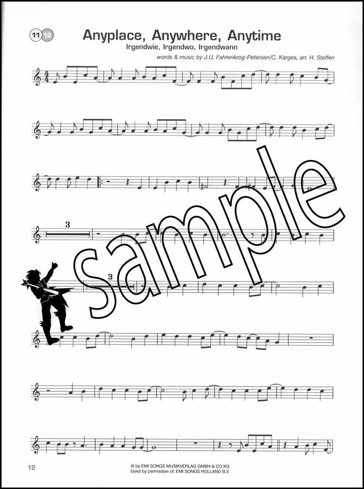 Details about Pop Plaza Trumpet Sheet Music Book & Play-Along Backing  Tracks CD