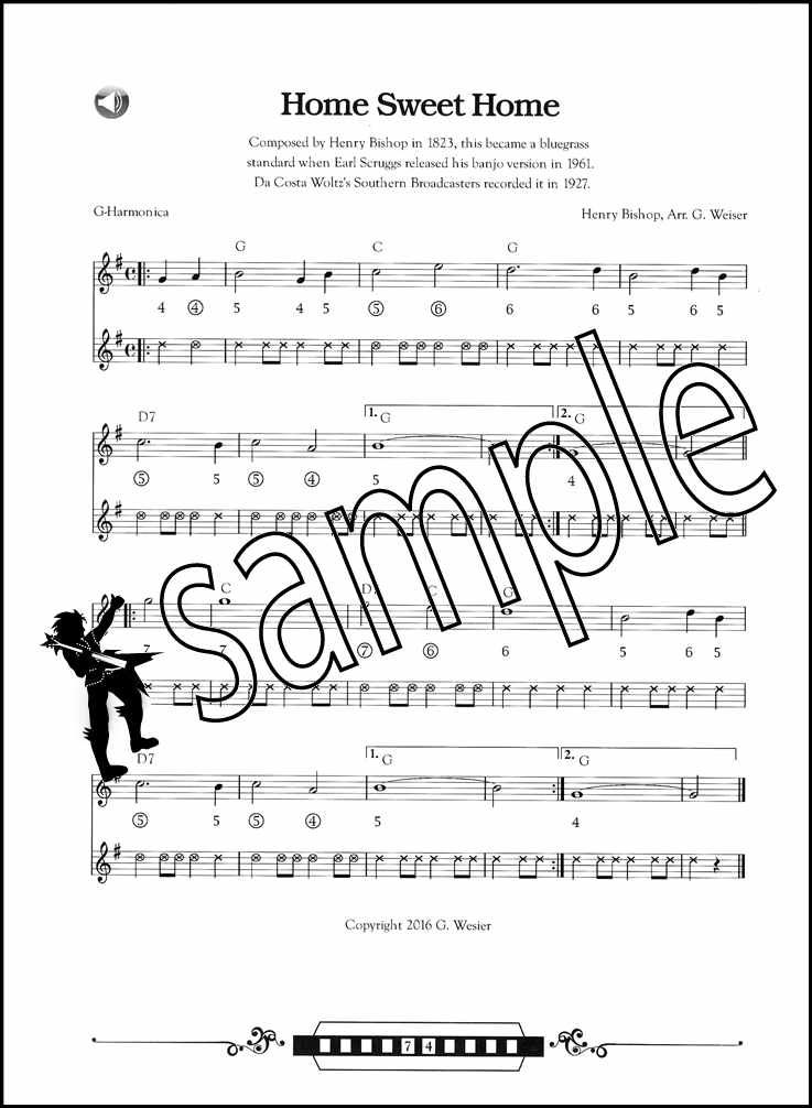 Details About Bluegrass And Old Time Fiddle Tunes For Harmonica Sheet Music Book With Audio