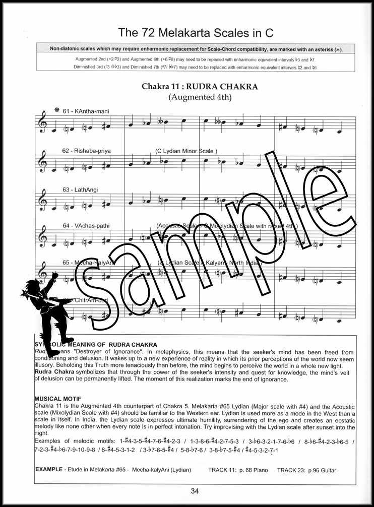 Elements of Indian Music Book//Audio The Melakarta System Piano Theory Method