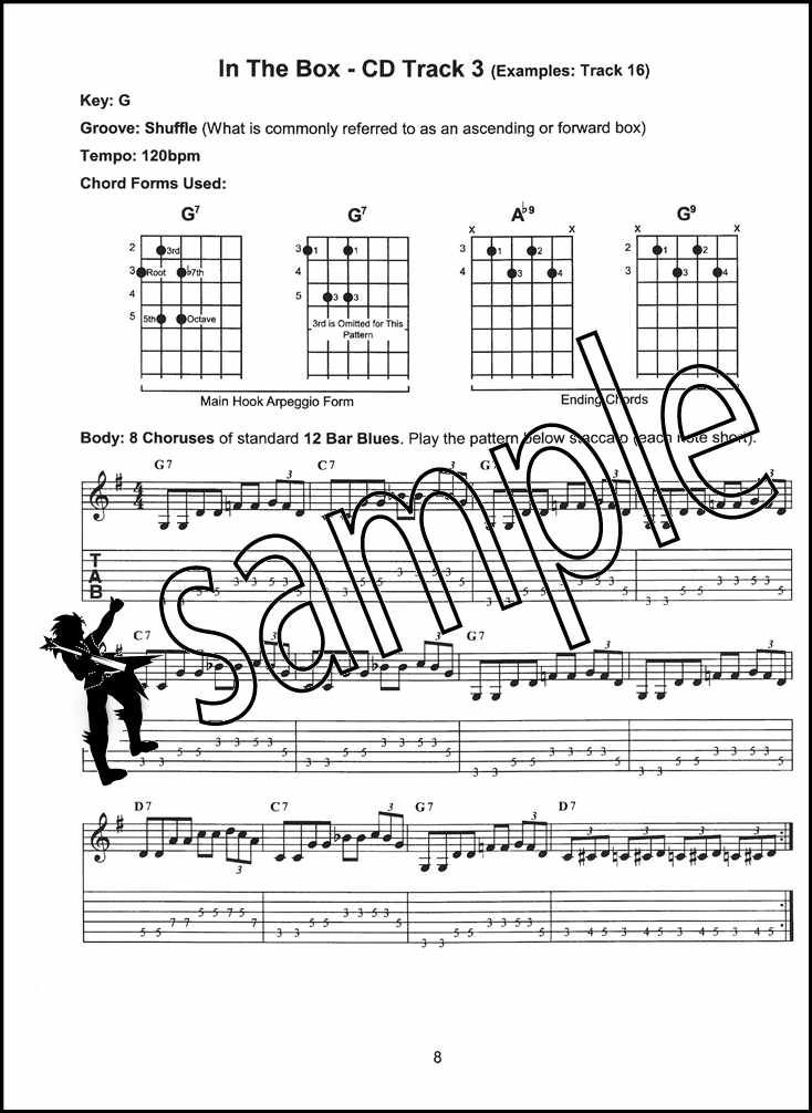 Details about Blues Guitar Play-Along Trax TAB Music Book with Audio Learn  How To Play Method