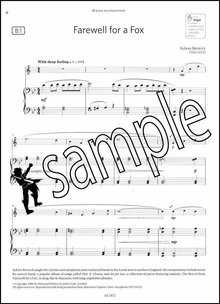 Saxophone Exam Pieces 2018-2021 ABRSM Grade 5 Selected from the 2018–2021 sylla