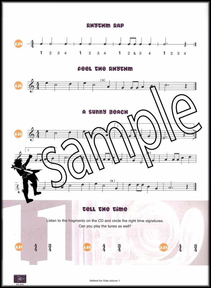 Cheap Sale Step By Step 2 For Flute Sheet Music Book With 2cds Musical Instruments & Gear Wind & Woodwinds
