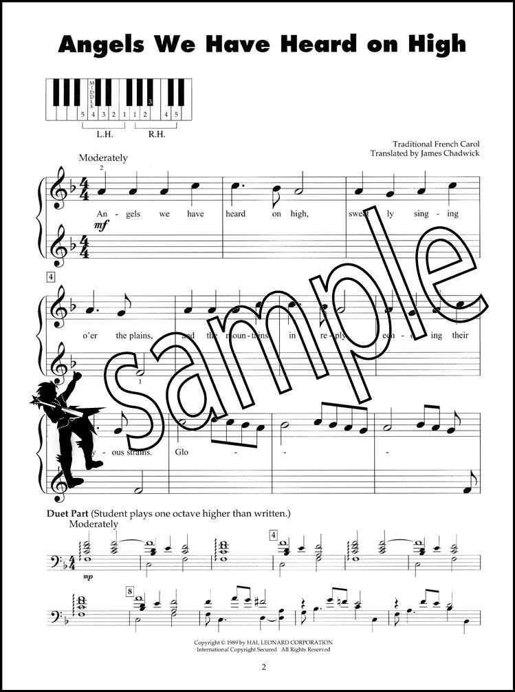 Christmas Carols Sheet Music.Details About Five Finger Piano Christmas Carols Sheet Music Book Silent O Holy Night Xmas