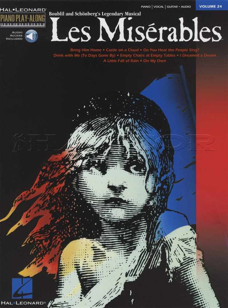 Details about Les Miserables Piano Play-Along Sheet Music Book & Backing  Tracks Audio