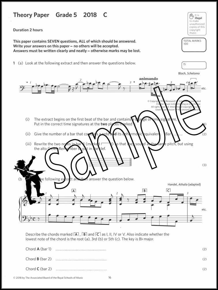 Details about Music Theory Practice Papers 2018 ABRSM Grade 5 Past Exams  SAME DAY DISPATCH
