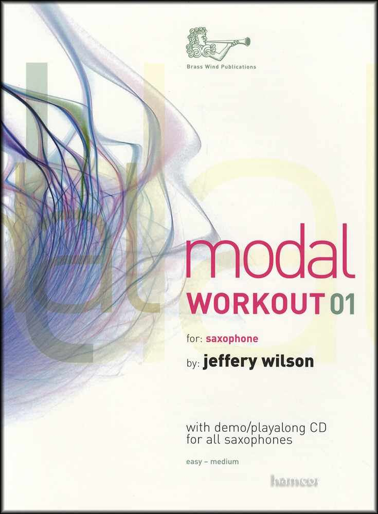 Modal Workout 02 for Saxophone Music Book//CD All Saxes Alto Tenor Eb Bb