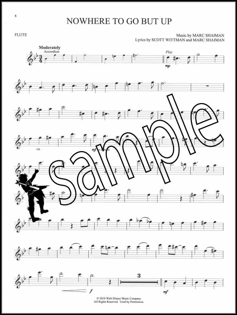 Details about Mary Poppins Returns for Flute Sheet Music Book/Audio Disney  SAME DAY DISPATCH