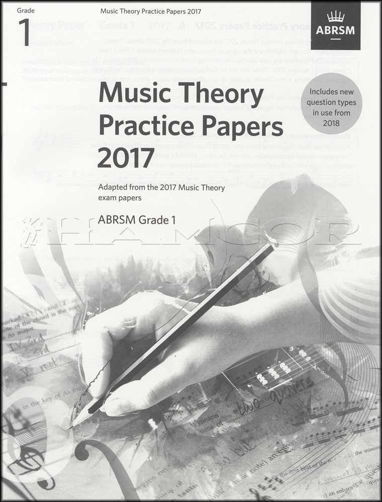 Details about ABRSM Music Theory Practice Papers 2017 Grade 1 Past Exam  Questions Music Book