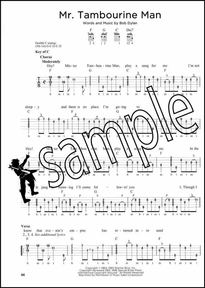clawhammer banjo tab for tennesse waltz