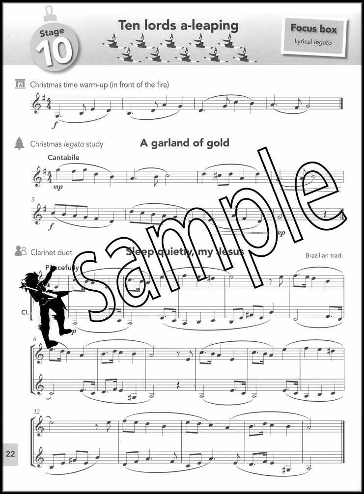 Clarinet Sheet Music Christmas.Details About Paul Harris S Christmas Clarinet Basics Sheet Music Book Solos And Duets Xmas