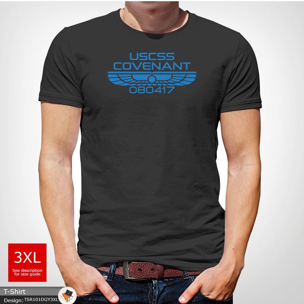 Alien Covenant, Covenant, Covenant, USCSS, Weyland, Espace, Cinéma, fun, t shirt homme cadeau de Noël rouge! 434e01
