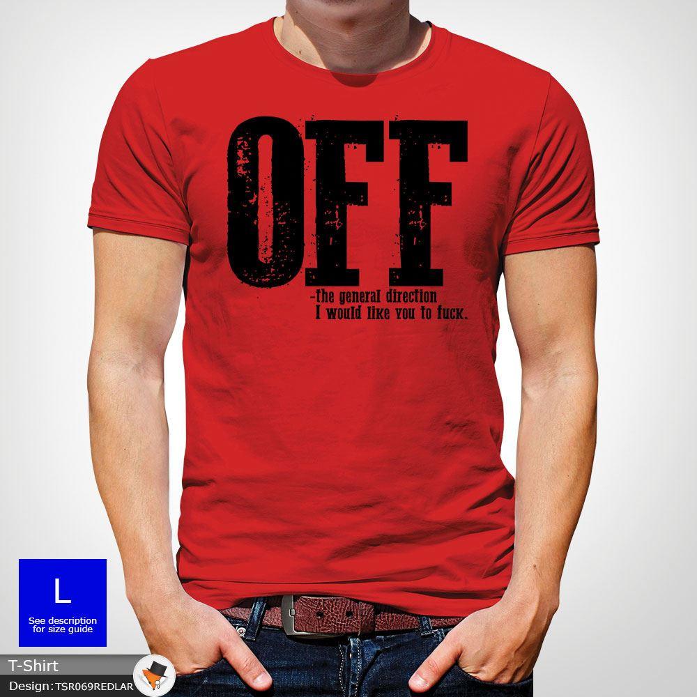 F-ck-Off-T-Shirt-Funny-Mens-Explicit-Adult-Rude-Swear-Teenager-Xmas-Gift-Black thumbnail 36