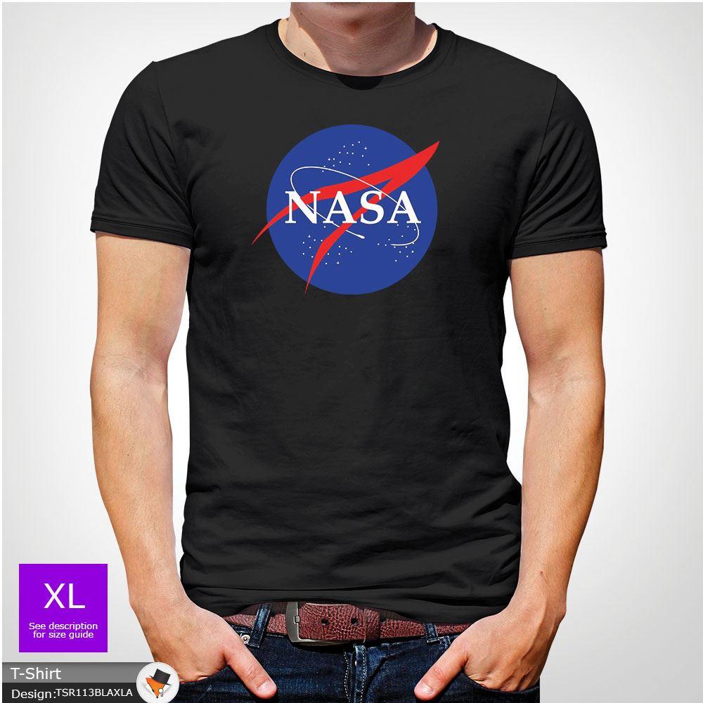 NASA SPACE ASTRONAUT T-SHIRT GEEK NERD STAR LOGO UNISEX KIDS CHEST T-Shirt Top