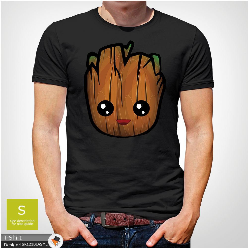 Cute Baby Groot Guardians of the Galaxy Christmas Mens Womens Kids T-Shirt