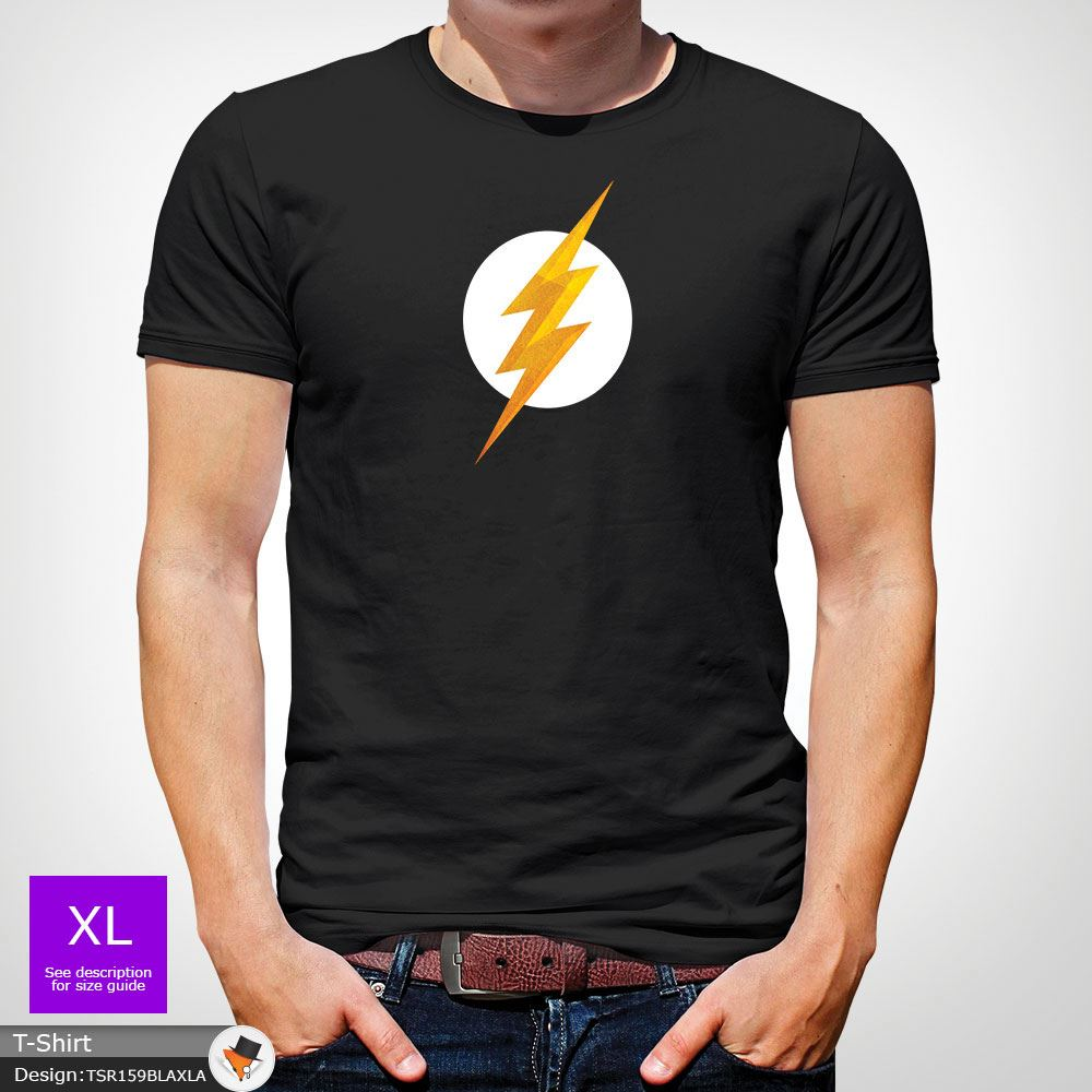 THE FLASH TSHIRT MENS T SHIRT HIGH QUALITY