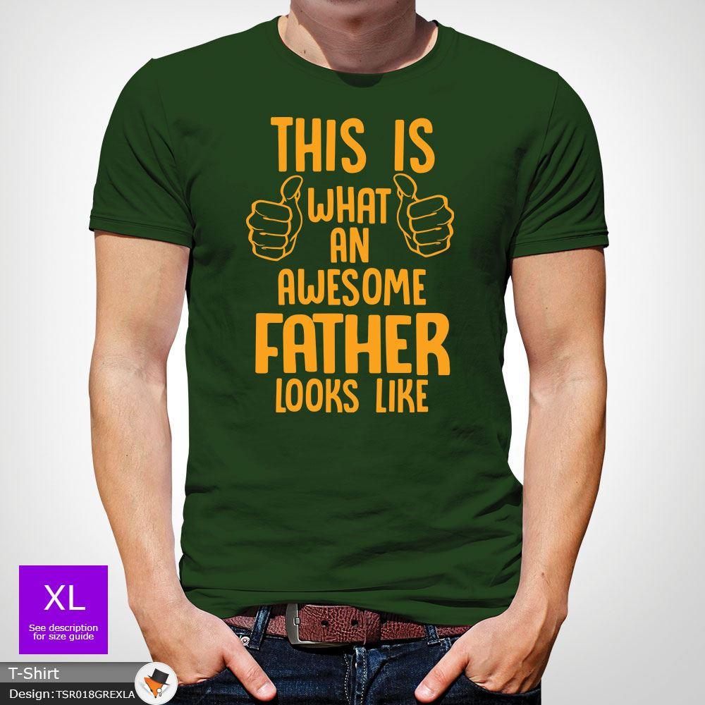 Ce est ce que UN SUPER PAPA pour être ressemble Père T Shirt Cadeau Père ressemble Rouge! bcb1a0