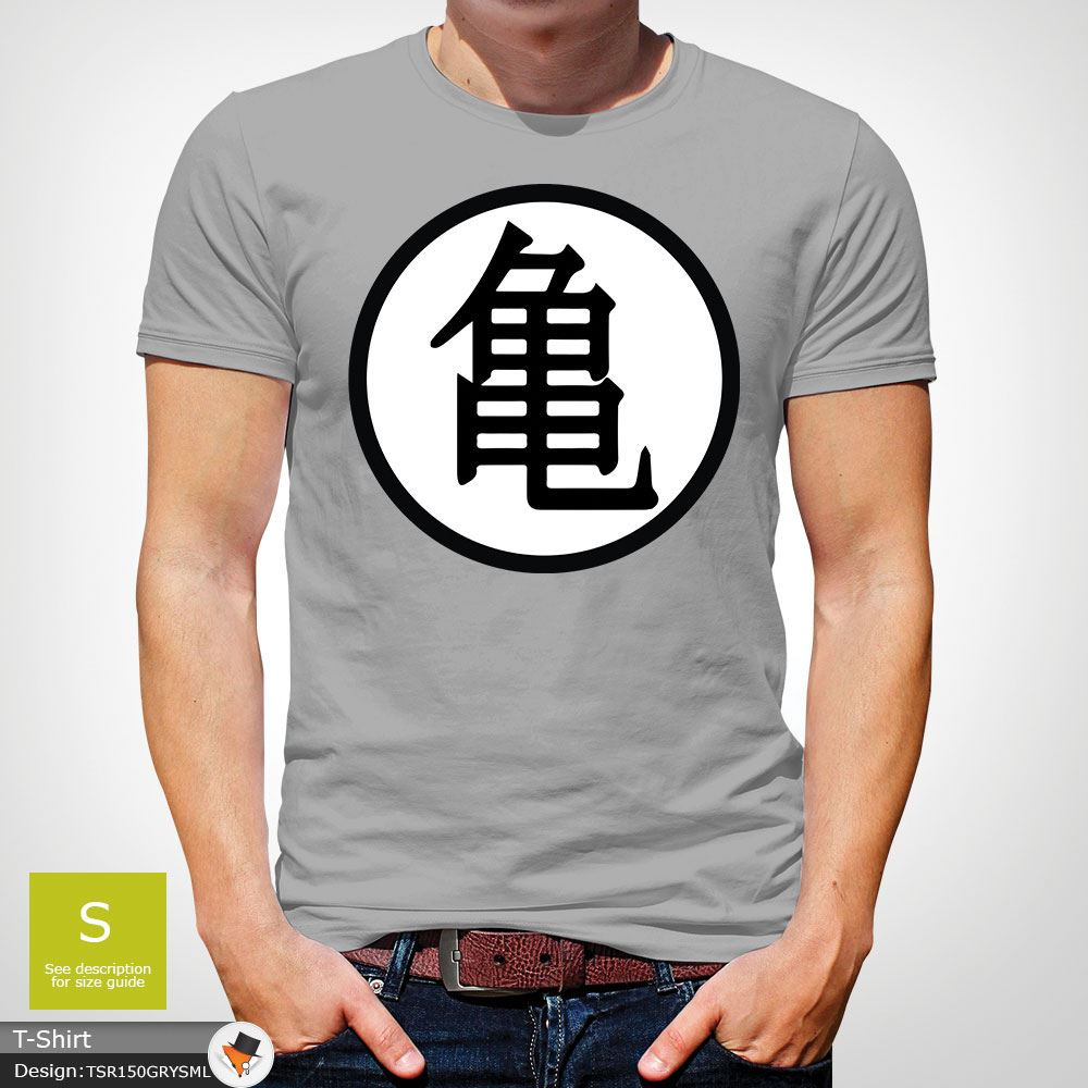 Gokus Training Symbol Baseball T Shirt Dragon Ball Mens Fan Gift
