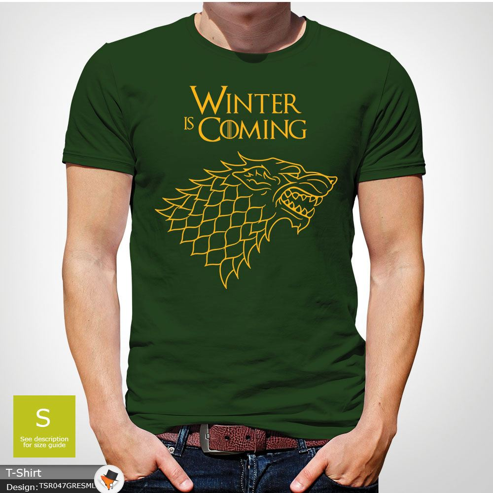 House Stark Winter is Coming Got Funny Winter Season,Unisex T-Shirt