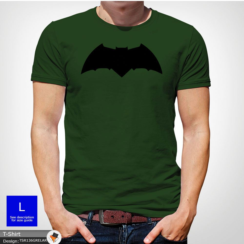 5aef9145 Batman Chest Logo T-shirt Team Bat T-Shirt Tshirt All Sizes S-3XL ...