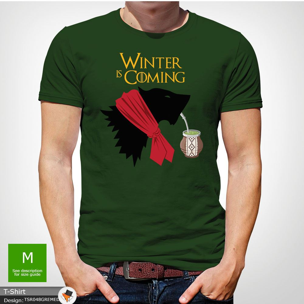 Winter is Coming lustig Game of Thrones Weihnachten T-Shirt Geschenk ...