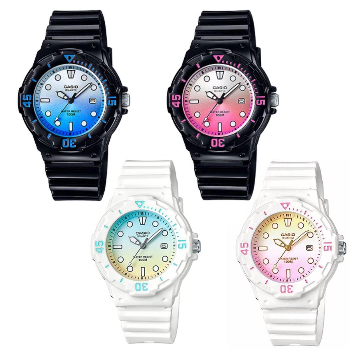 6b396c93a Casio Women's Sports Water Resistance Date Rubber Band Watch LRW ...