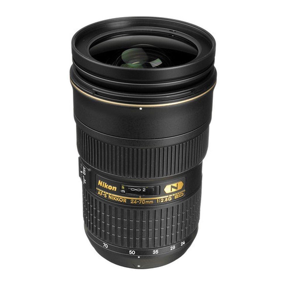 Nikon AF-S Nikkor 24-70mm f/2.8G ED Autofocus Lens 77mm Pro Series ...