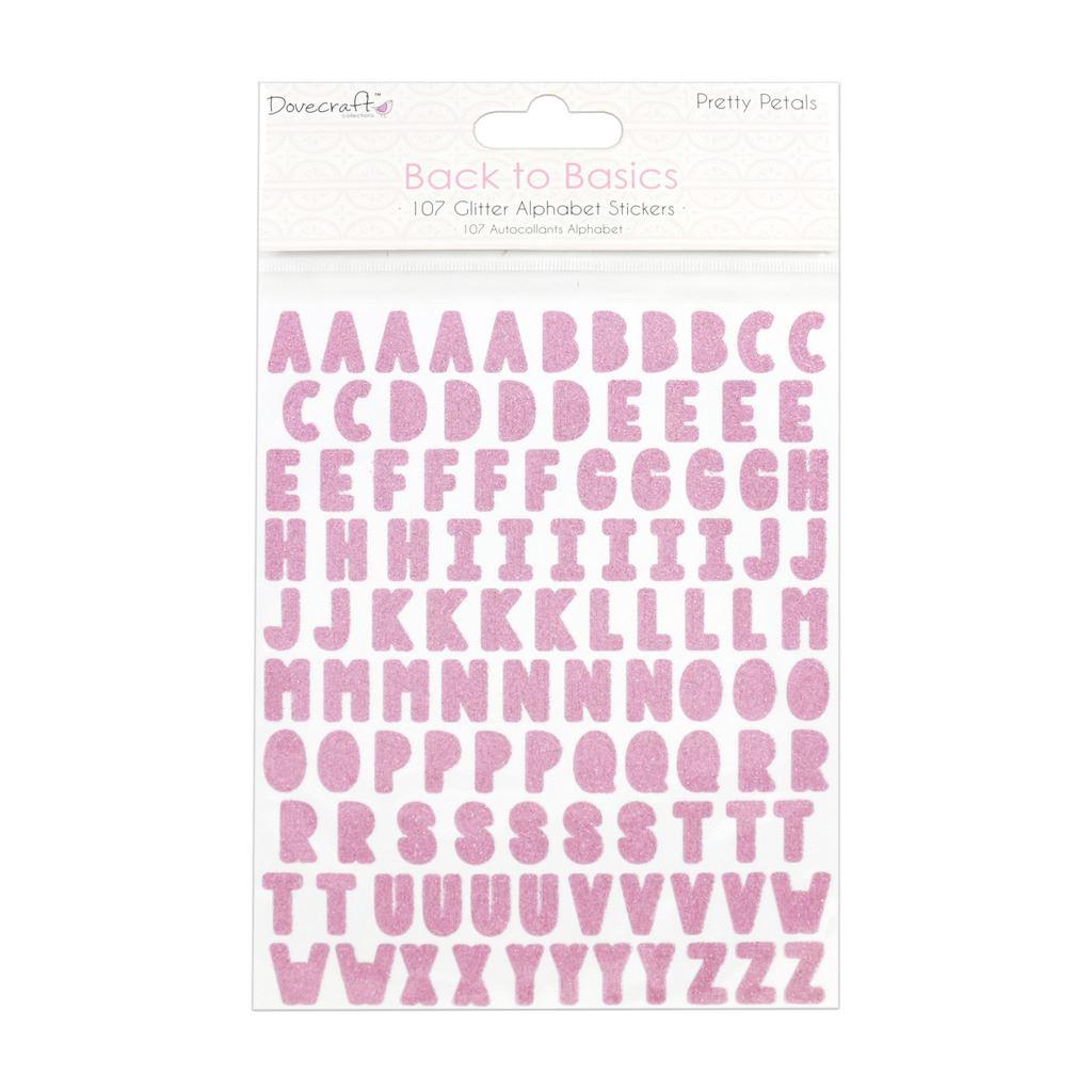 Owl Folk 106 pieces Papermania Craft Canvas Alphabet Stickers