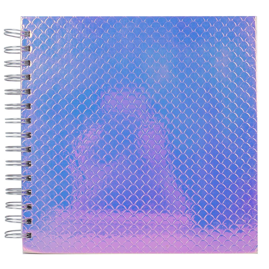 "8x8/"" Simply Creative Scrapbook Memory Photo Kraft Black Album Plain"