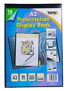A2 display book presentation portfolio folder