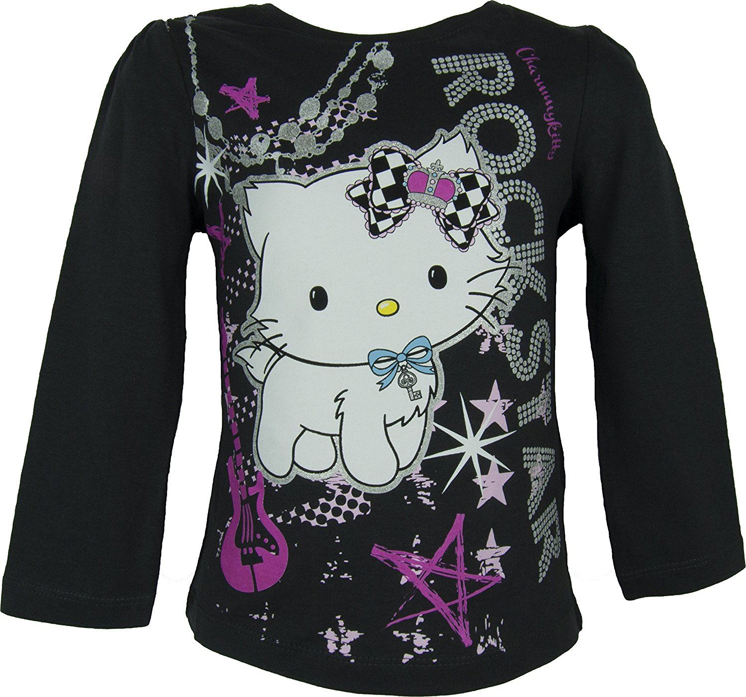 Ninas-Dora-The-Explorer-Hello-Charmmy-Kitty-Camiseta-de-manga-larga