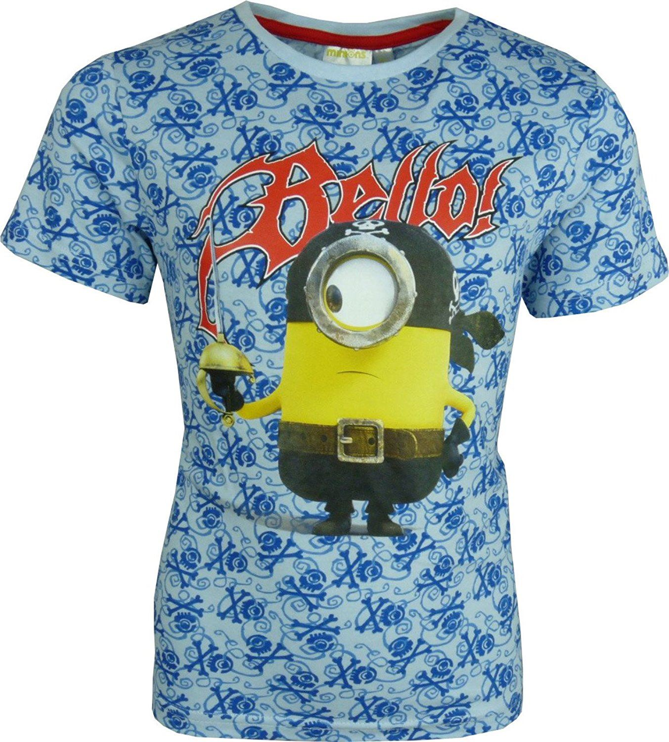 Garcons-Disney-Cars-Mickey-Mouse-Planes-Minions-Scooby-Doo-T-shirt