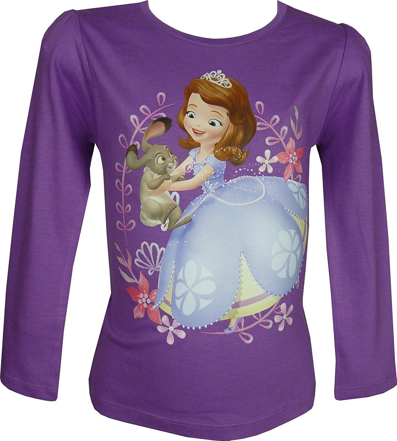 Fille-Disney-Princess-Sofia-Frozen-Minnie-Mouse-Top-a-manches-longues