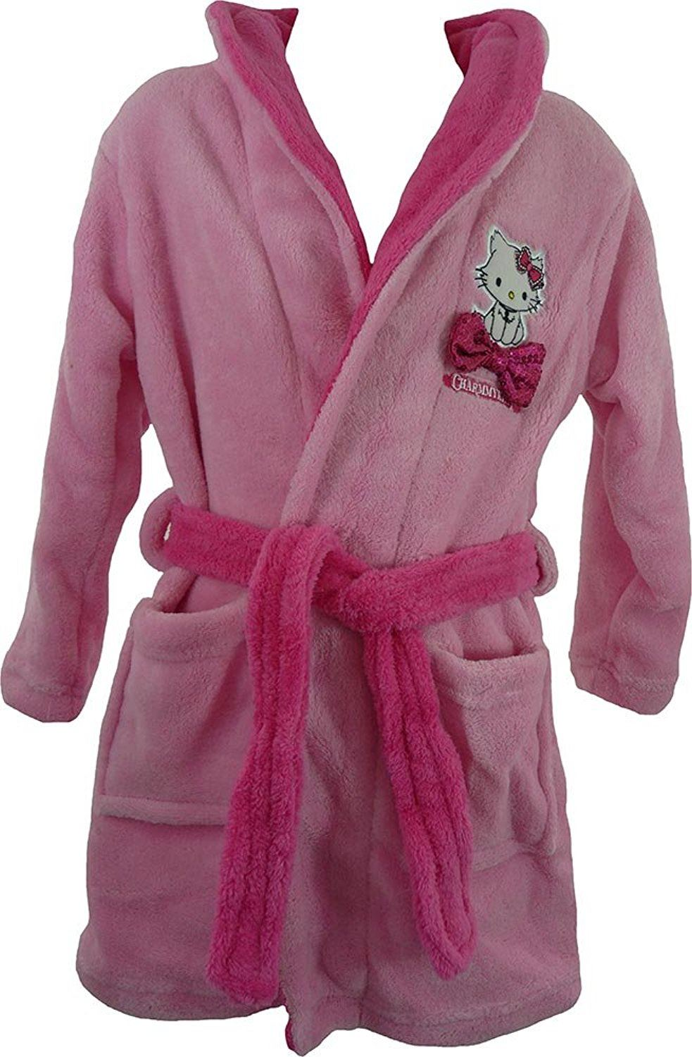 Filles robe de chambre peignoir disney princesses minnie mouse gel hello kitty ebay - Robe de chambre hello kitty ...