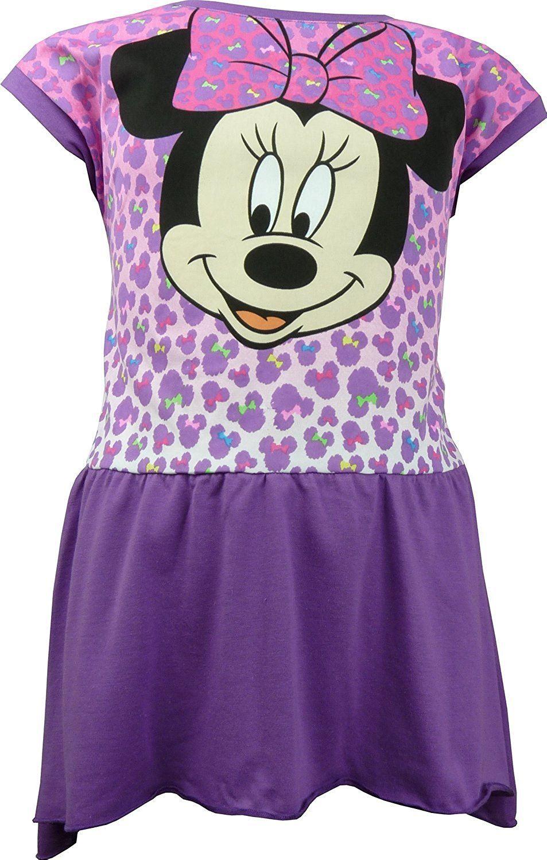 Fille-Disney-Frozen-Sofia-Minnie-Mouse-Hello-Charmmy-Kitty-Robe-manches-courtes