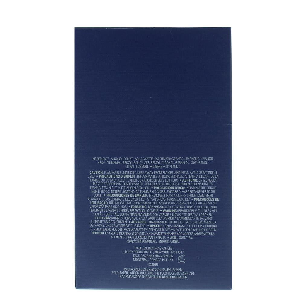 Ralph Lauren polo blue gold blend eau de parfum per uomo 40 ml