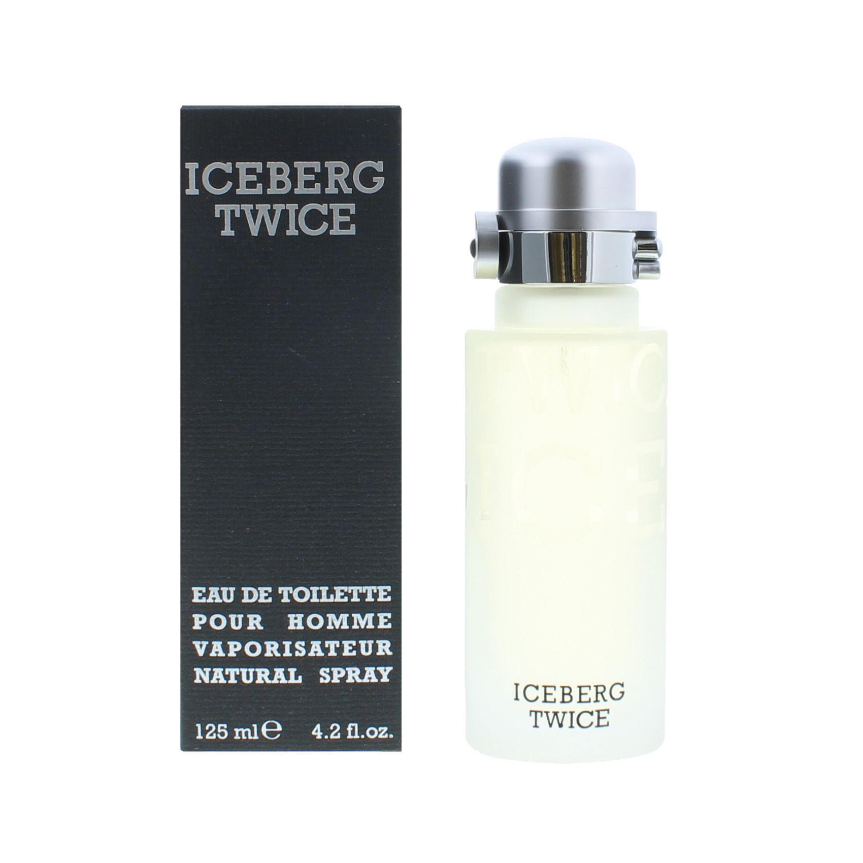 Men's Iceberg Pour Toilette NewFor Eau De 125ml Him Twice Edt Homme Details About Spray rdQBeWCxo