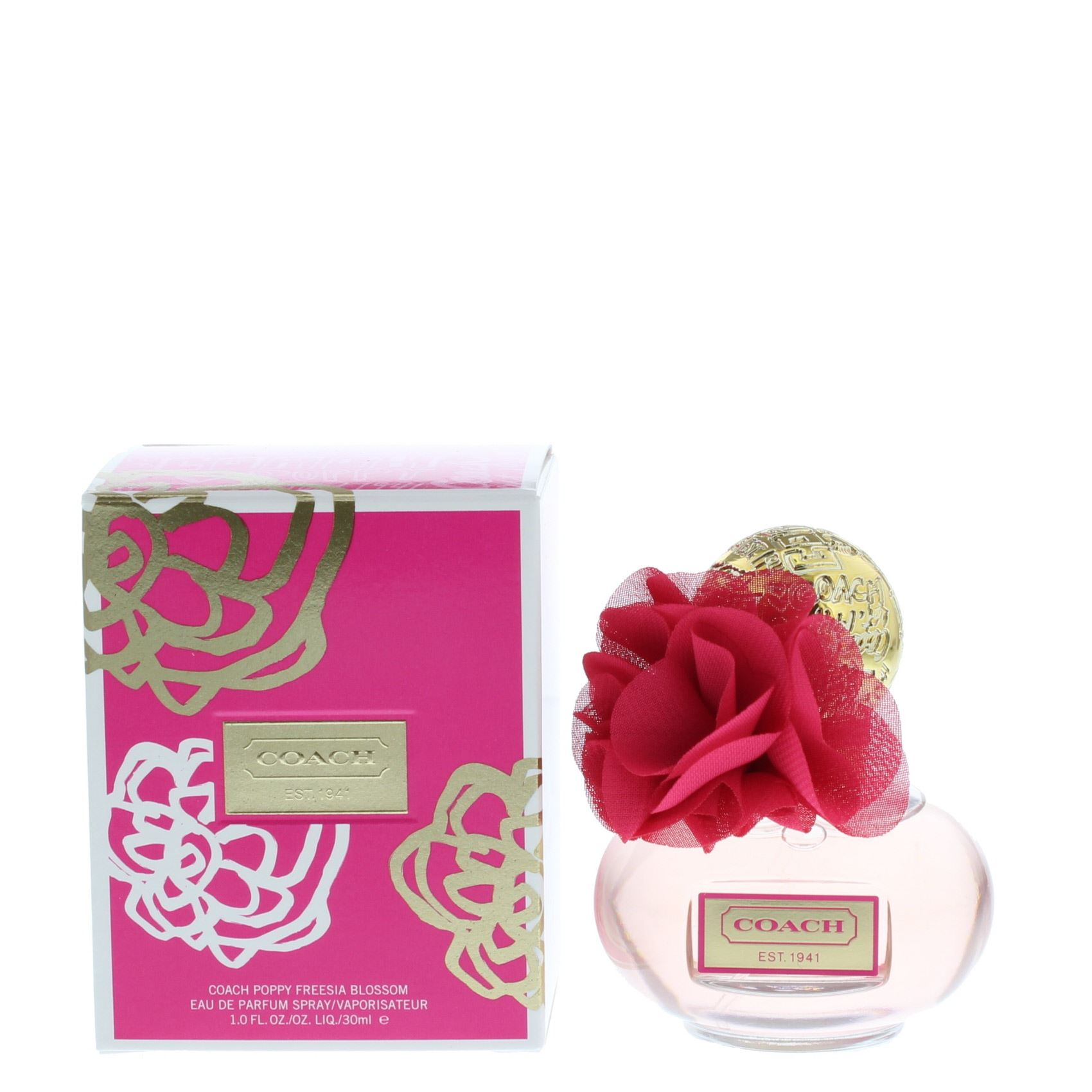 Coach Poppy Freesia Blossom Eau De Parfum 30ml Spray For Her Edp