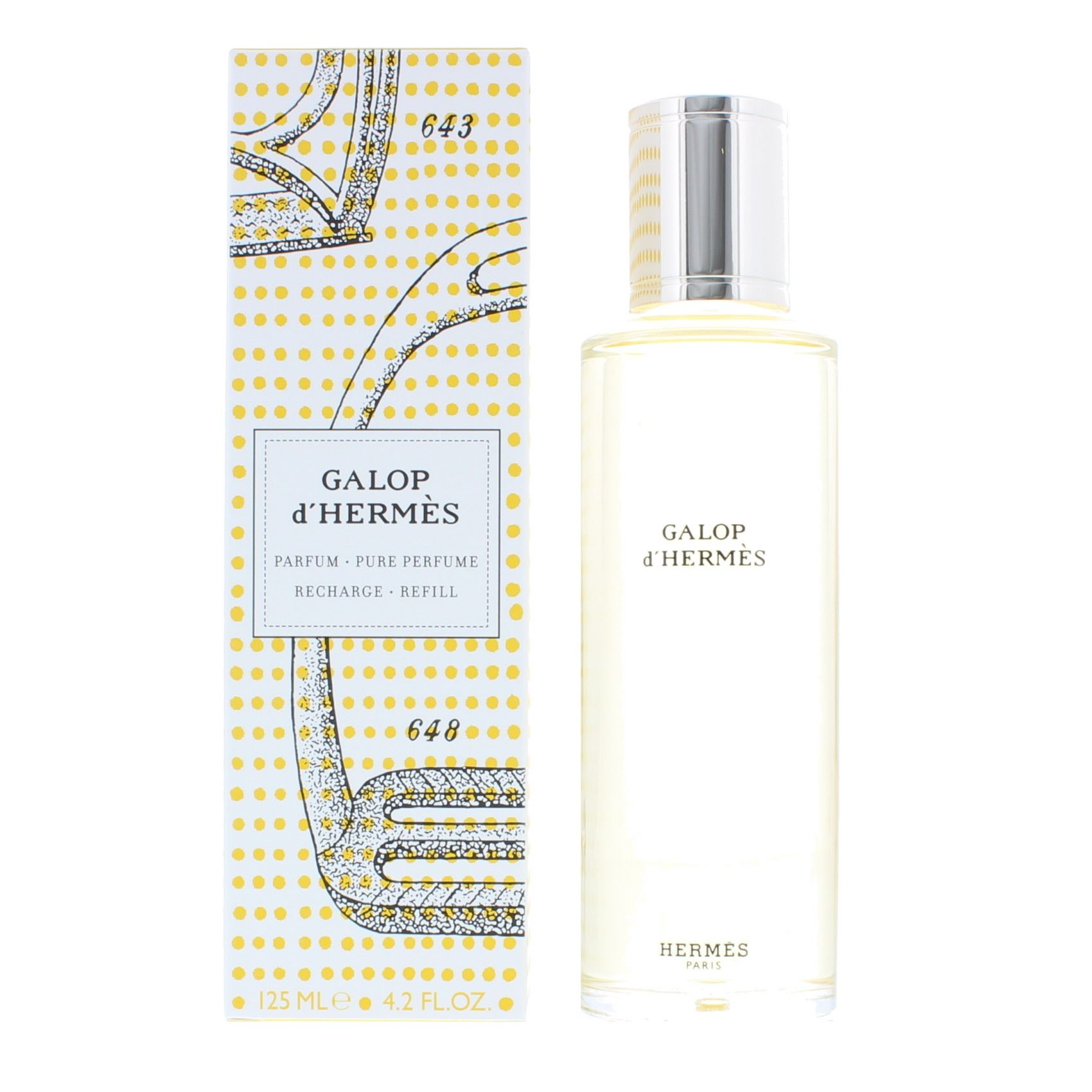 Details Pure Parfum Refill About Hermes For Perfume 125ml D'hermes Her Galop NewWomen's 0wPnk8O
