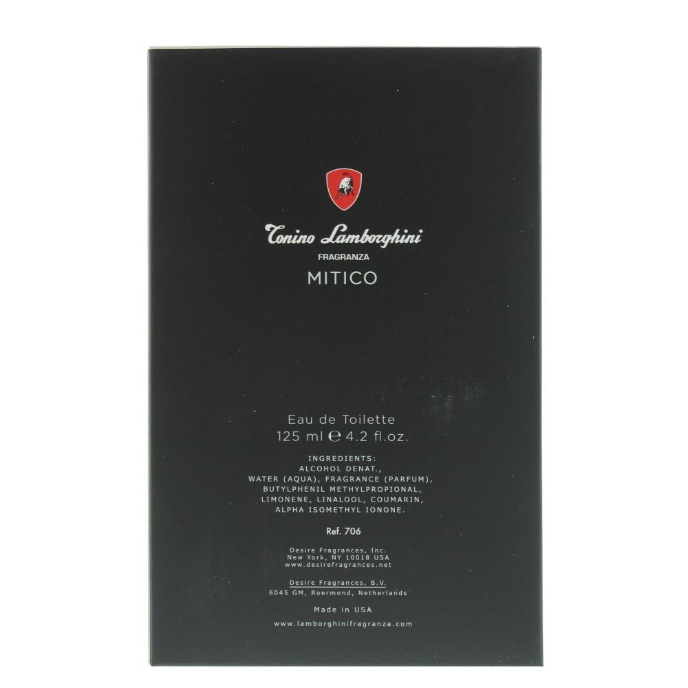 online store c54ce 3bfa6 Lamborghini Mitico Eau de Toilette 125ml Spray Men's - NEW ...