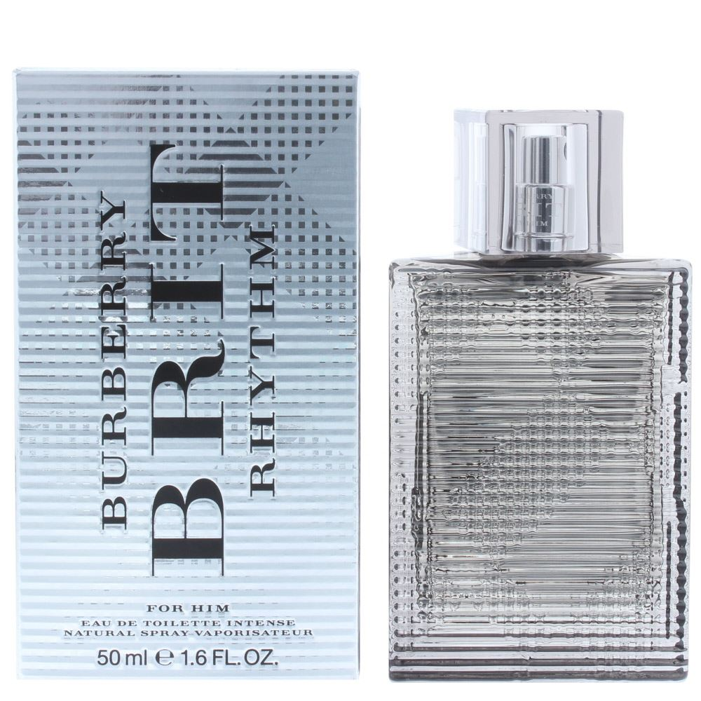 282a41b0d1 Burberry Brit Rhythm For Him Intense is a leather fragrance for men. Top  notes: sage, pepper, wormwood, cumin, bergamot, fig, raspberry.