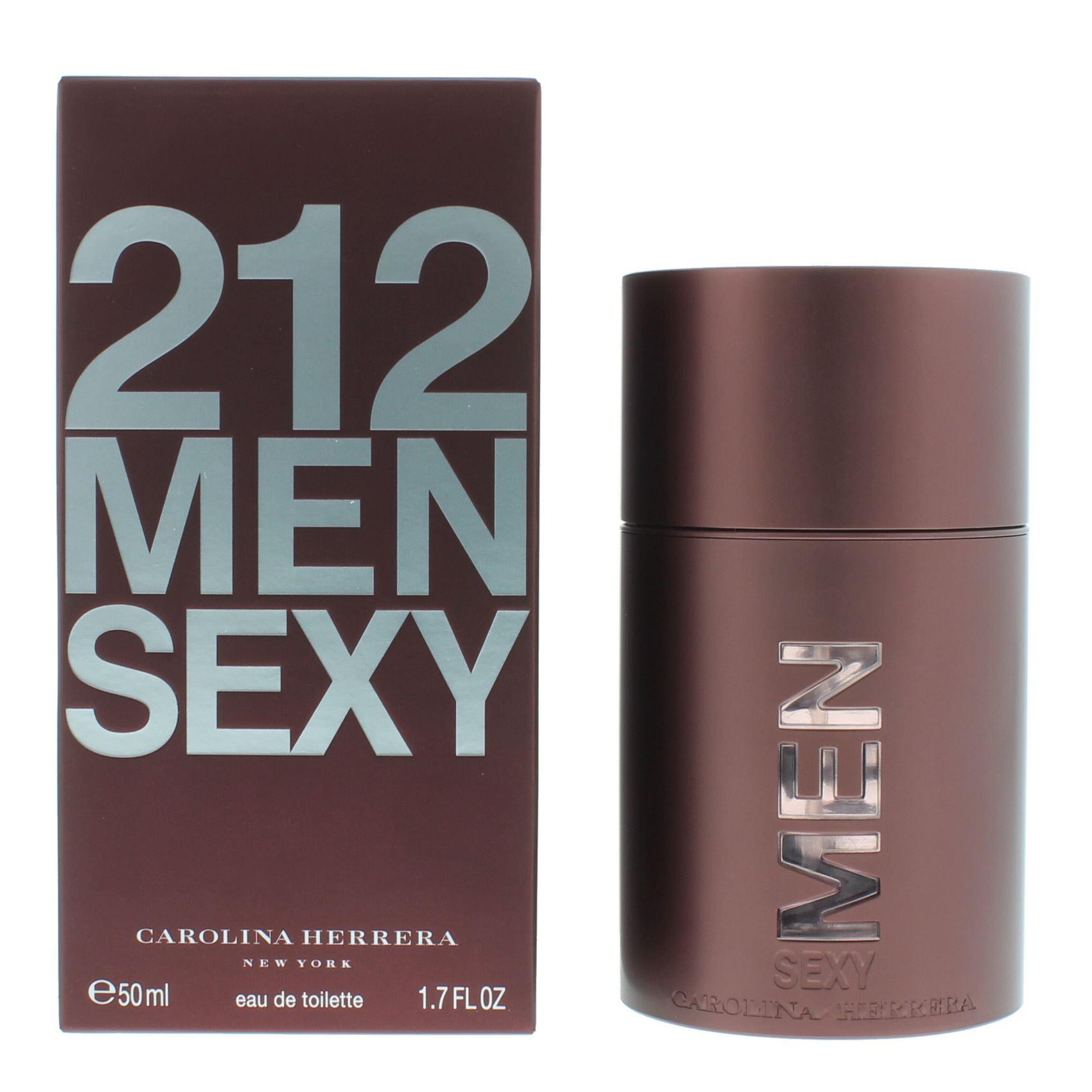 896dab90b2 Details about Carolina Herrera 212 Men Sexy Eau de Toilette 50ml Spray For  Him - NEW. EDT