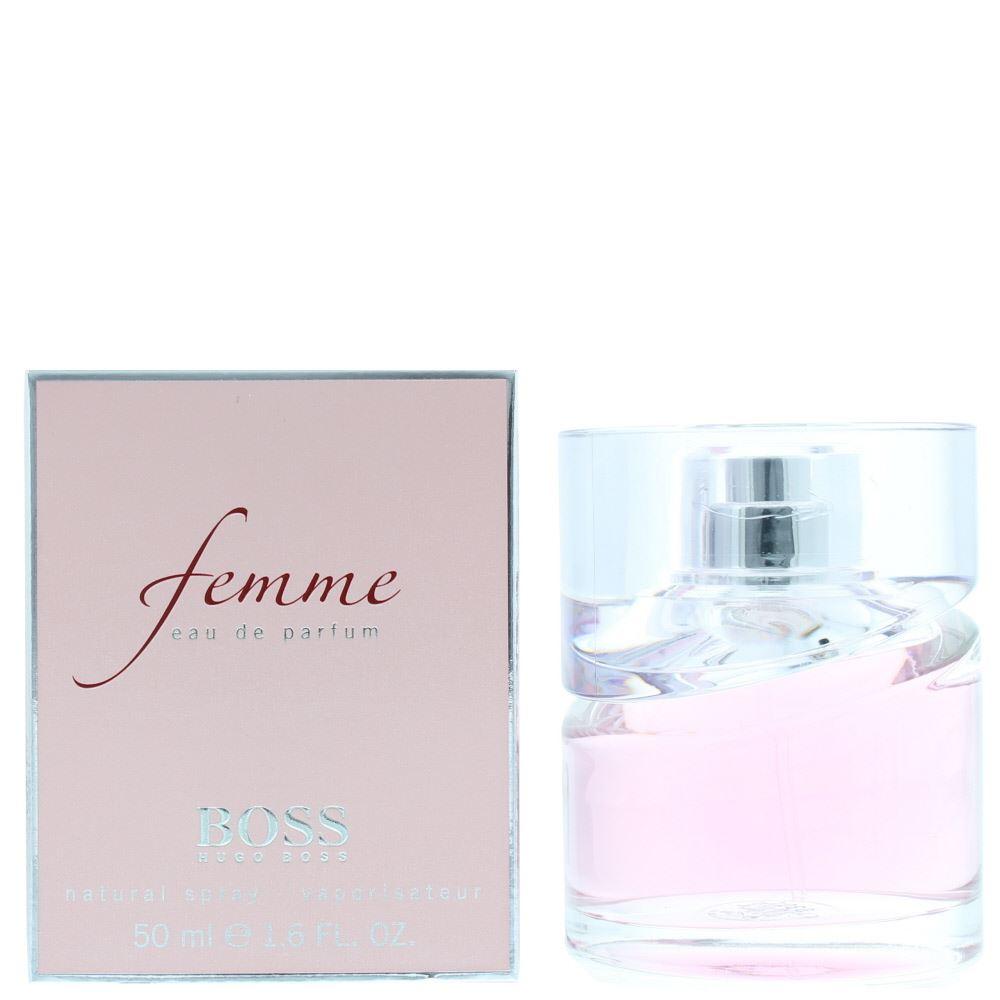 later order online best deals on Details about Hugo Boss - Boss Femme Eau de Parfum 50ml Spray Women's -  NEW. EDP - For Her
