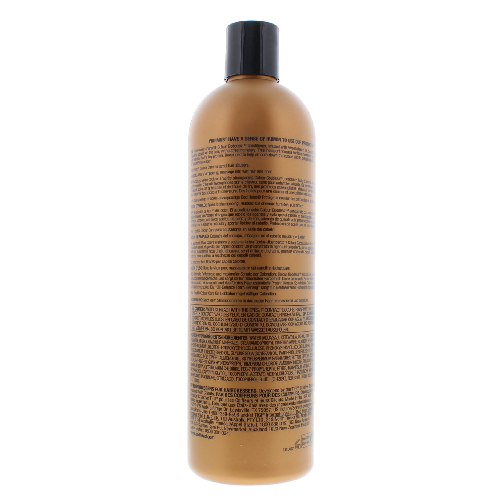 Details about TIGI Colour Goddess Oil Infused Conditioner 750ml For  Coloured Hair