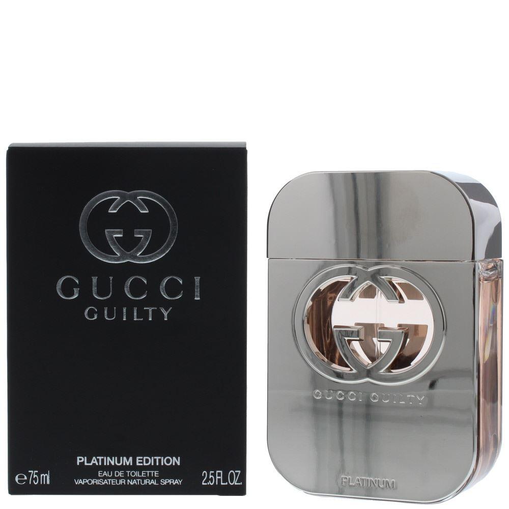 044152fa912 Details about Gucci Guilty Platinum Eau de Toilette 75ml Spray Women s -  For Her EDT - NEW.