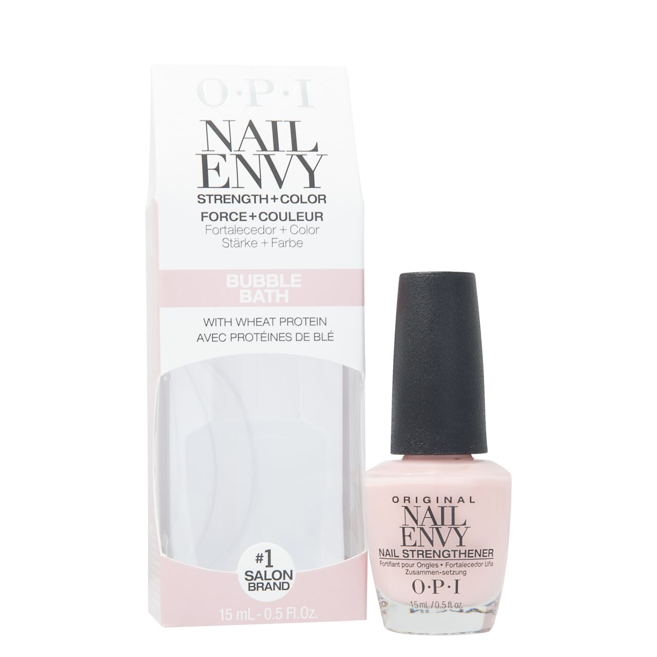 OPI Nail Envy Bubble Bath Nail Strengther 15ml with Wheat Protein ...